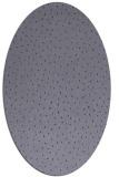 rug #535585 | oval blue-violet popular rug