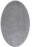 rug #535609 | oval blue-violet animal rug