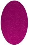 rug #535705   oval pink animal rug