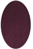 rug #535725 | oval purple popular rug