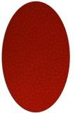 rug #535749 | oval pink animal rug