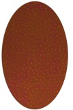 rug #535761 | oval red-orange animal rug
