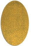 rug #535801 | oval light-orange animal rug