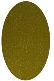 rug #535817   oval light-green animal rug