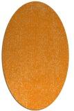rug #535841 | oval light-orange animal rug