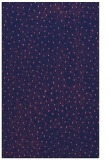 rug #535941 |  blue-violet animal rug