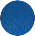 rug #536369 | round blue animal rug