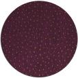 rug #536429 | round purple animal rug