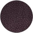 rug #536437   round purple rug