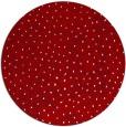 rug #536441 | round red animal rug