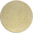 rug #536489 | round yellow animal rug