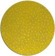 rug #536501   round yellow animal rug