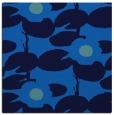 rug #537073 | square blue natural rug