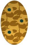 rug #537561   oval light-orange natural rug