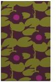 rug #537837 |  purple natural rug