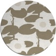rug #537961 | round beige natural rug