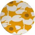rug #538297 | round light-orange natural rug