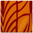 rug #538853   square orange abstract rug