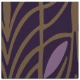 rug #538897 | square mid-brown abstract rug