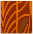 rug #538921 | square red-orange abstract rug
