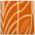 rug #538925 | square red-orange abstract rug