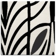 rug #538937 | square black abstract rug