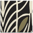 rug #538973 | square black abstract rug