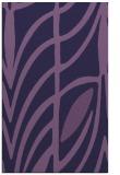 rug #539465 |  purple abstract rug