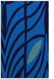 rug #539537 |  blue abstract rug