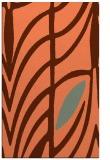 rug #539569 |  red-orange abstract rug