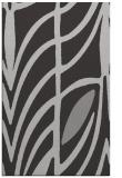 rug #539569 |  orange abstract rug