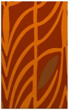 rug #539625 |  red-orange graphic rug