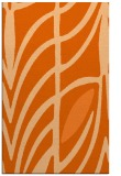 rug #539629 |  red-orange abstract rug