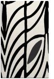 rug #539641 |  black abstract rug