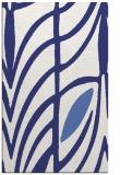 rug #539649 |  blue abstract rug