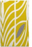 rug #539669    yellow graphic rug