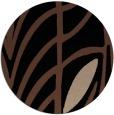 rug #539737 | round black natural rug