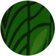 rug #539789 | round green abstract rug
