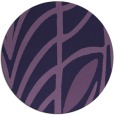 rug #539817 | round purple abstract rug