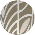 rug #539861 | round mid-brown natural rug