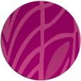 rug #539929 | round pink graphic rug