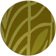 rug #540041 | round light-green graphic rug