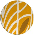 rug #540057 | round light-orange abstract rug