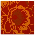 rug #540669 | square red natural rug