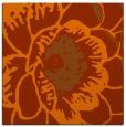 rug #540681   square red-orange natural rug