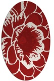 rug #541025 | oval rug