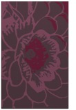 rug #541353 |  purple graphic rug