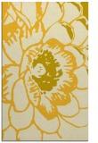 rug #541417 |  yellow graphic rug