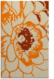 rug #541445 |  orange graphic rug