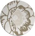 rug #541481 | round beige graphic rug